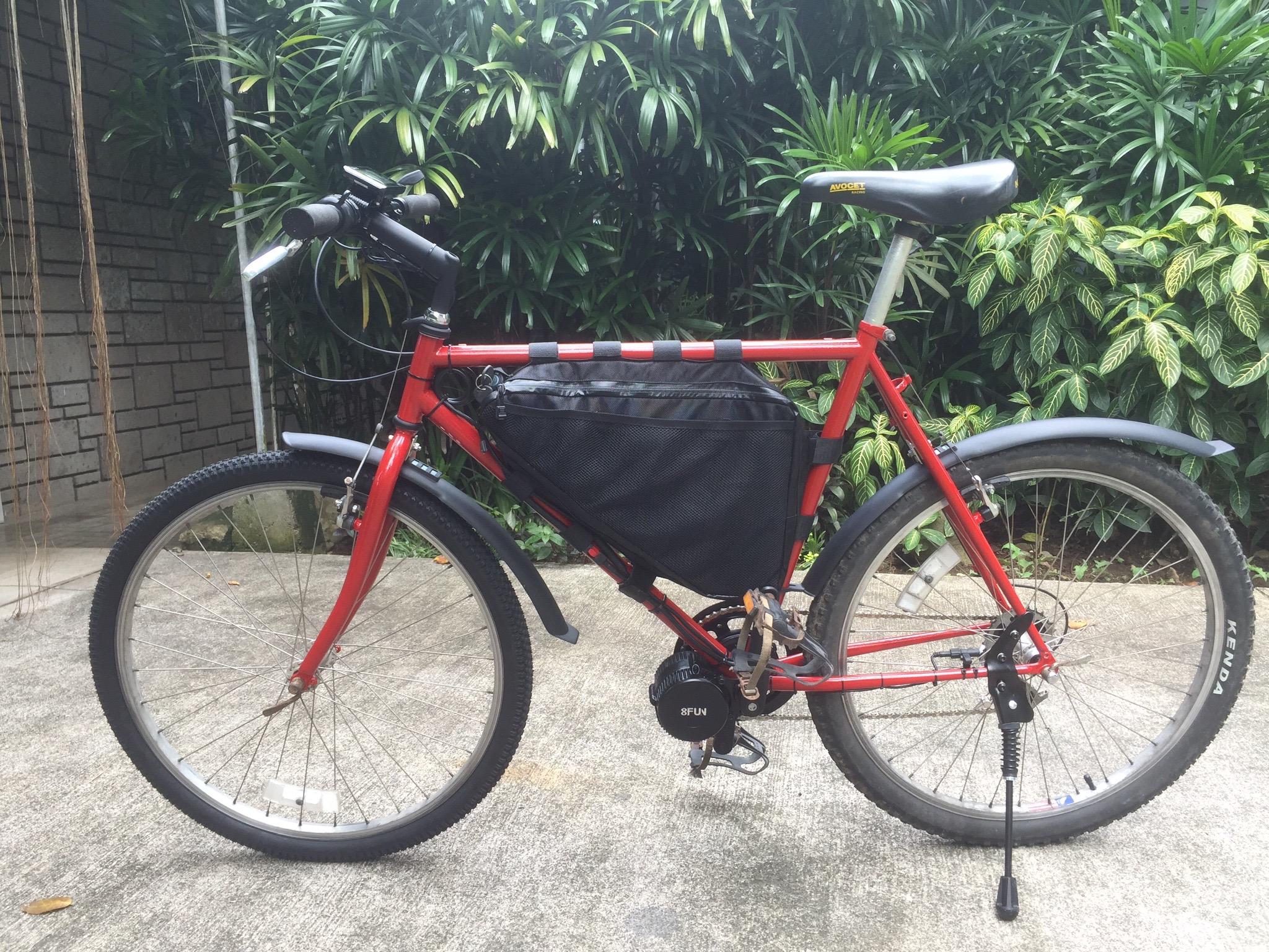Fixing my e-bike