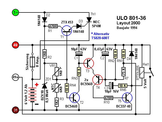 Ladeeinheit ULO 801