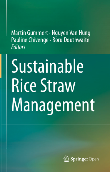 Book on Sustainable Rice Straw Management